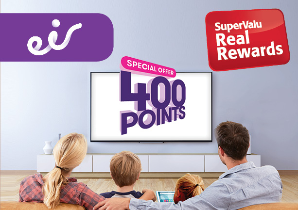SuperValu Real Rewards Eir