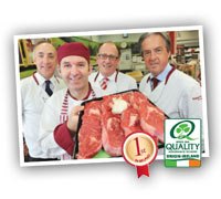 Bord bia butcher quality assured store