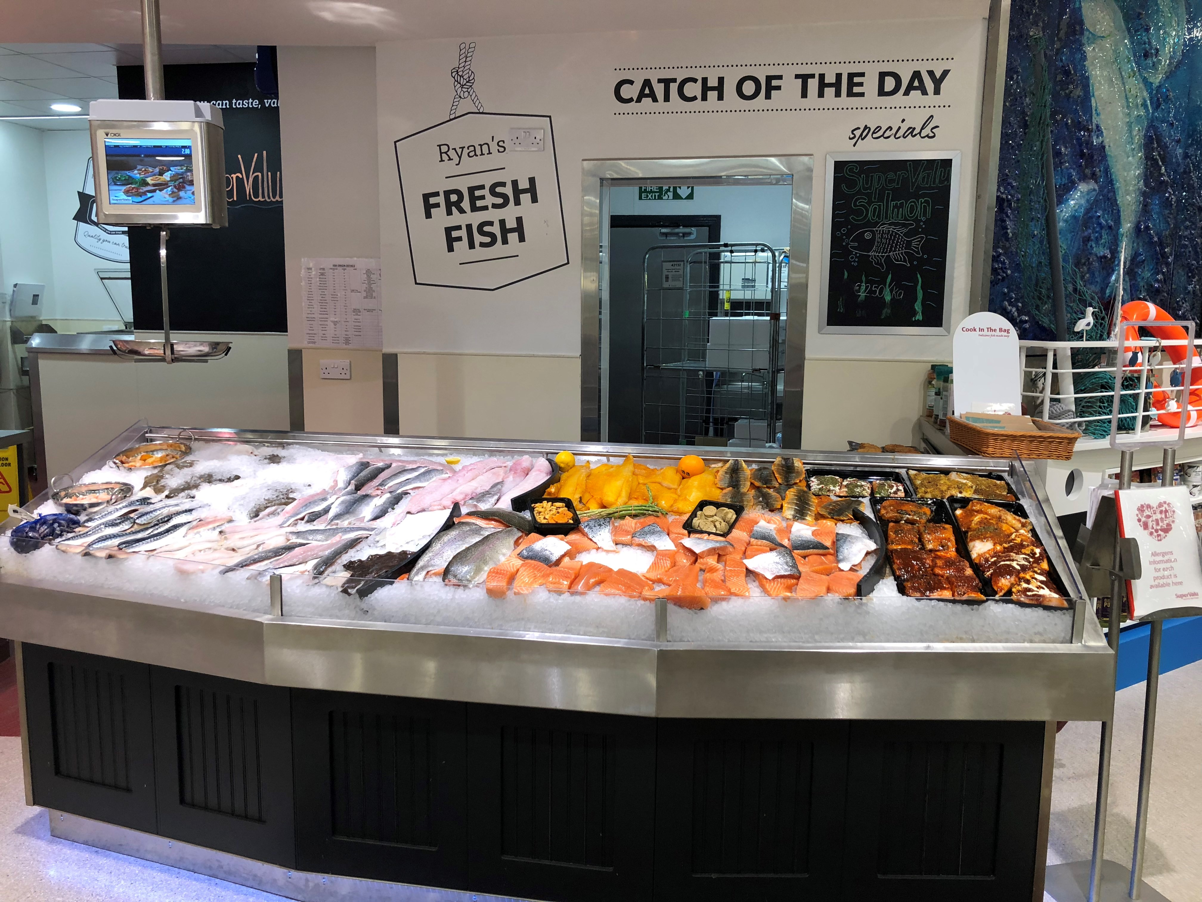 SuperValu Autism Friendly Grange Fish Monger