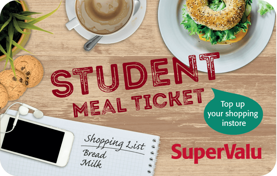 SuperValu Student Meal Ticket
