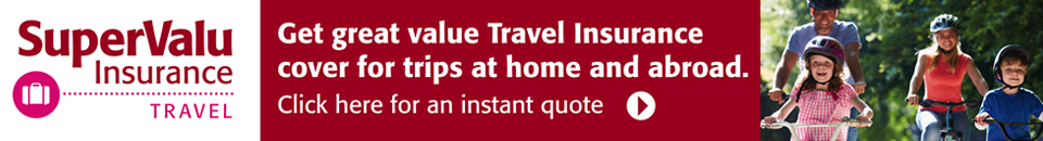 SuperValu Travel Insurance Banner