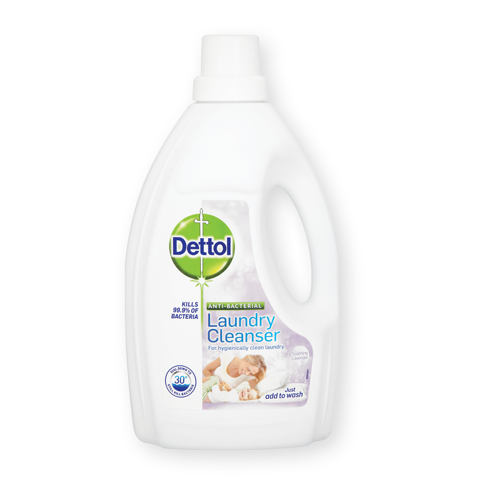 Dettol Anti Bacterial Laundry Cleanser Lavender 1.5ltr