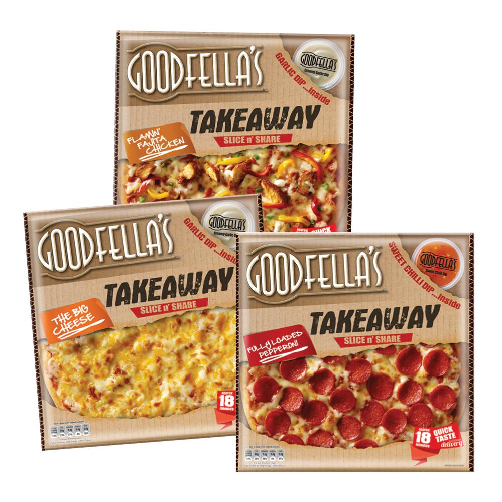 Goodfella's Takeaway Pizza Range 553g - 607g
