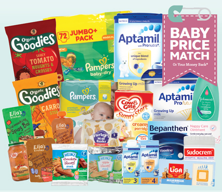 Baby Price Match Products