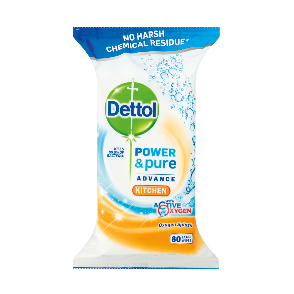 Dettol Power & Pure Kitchen Wipes - SuperValu