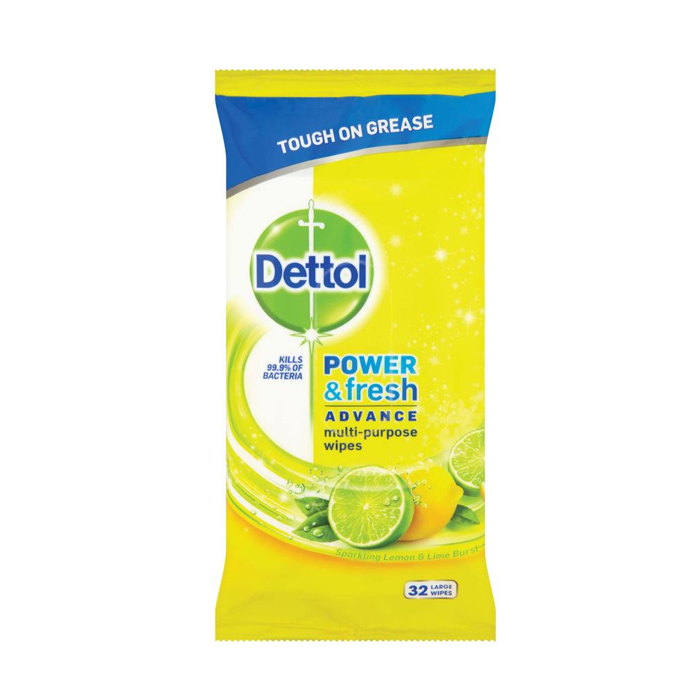 Dettol Surface Wipes Citrus - SuperValu