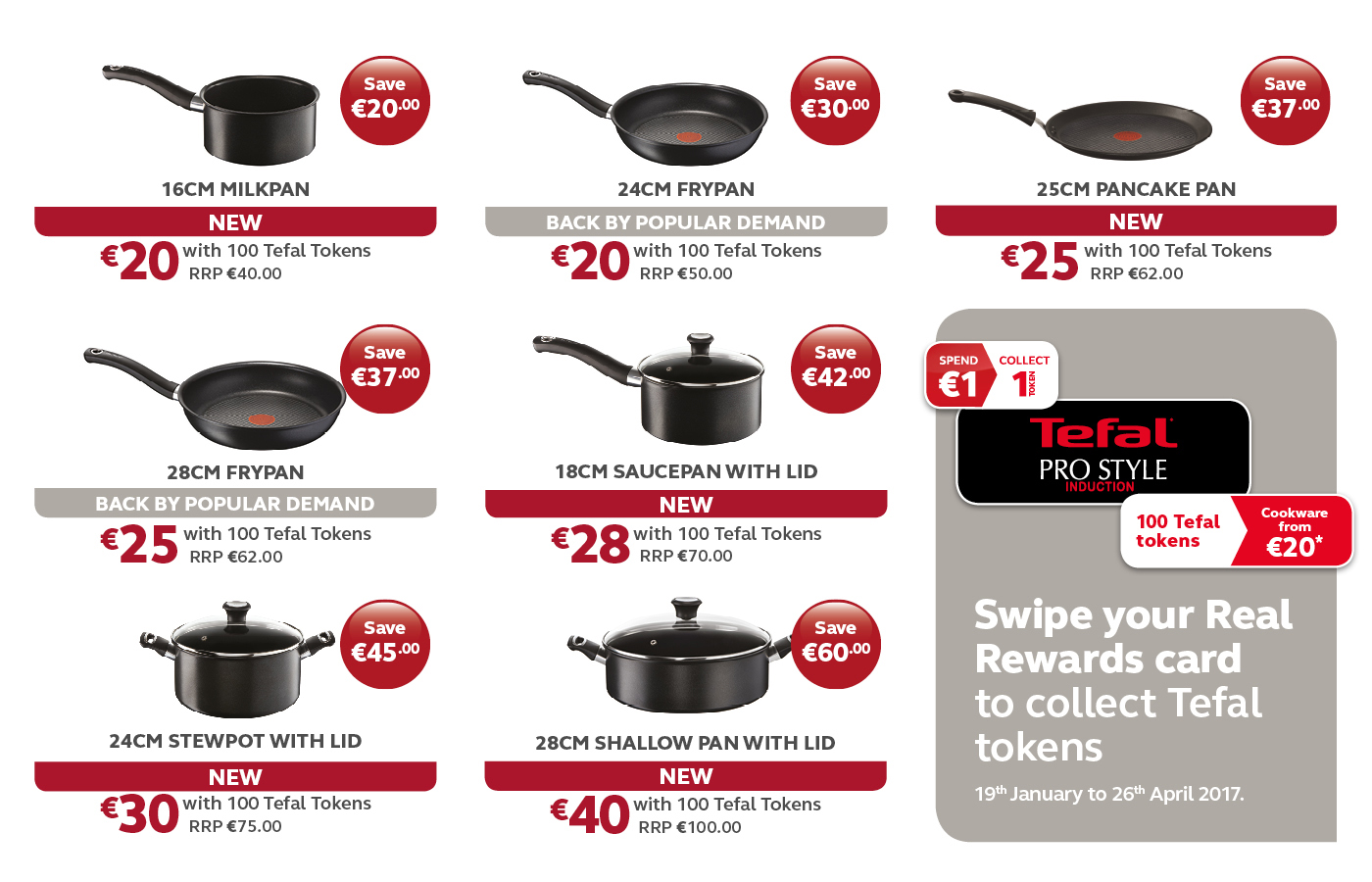 Tefal Pro Style Induction Cookware