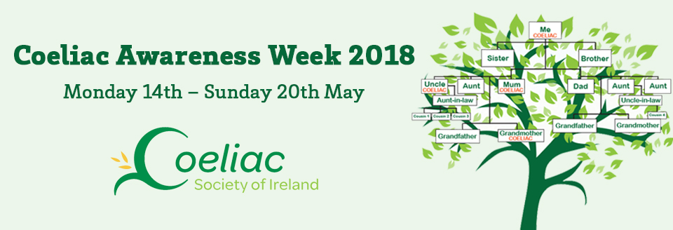 Coeliac Awareness Week 2018