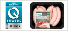 Superquinn Award Winning Sausages