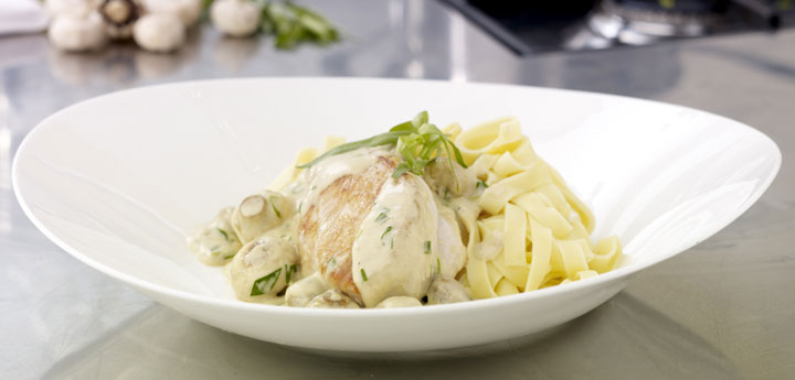 Try This Chicken Supreme With Tagliatelle
