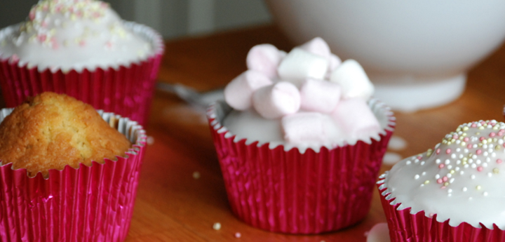 My Vanilla Fairy Cakes recipe is perfect for getting the kids baking