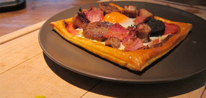 Breakfast Tartlet