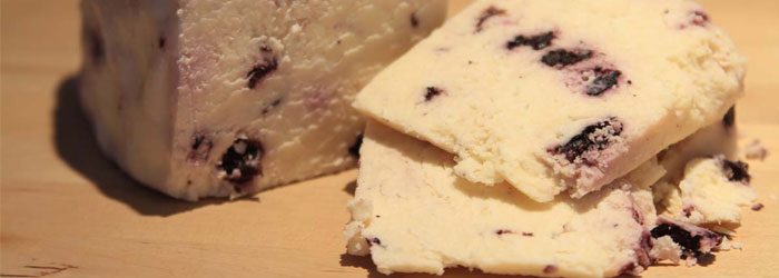 Wensleydale with Blueberry