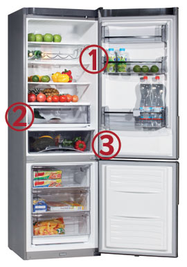 KeepFoodSafe fridge