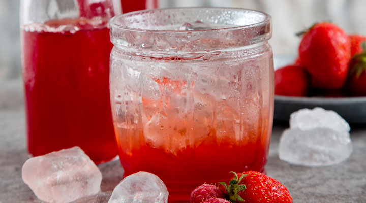 homemade strawberry and raspberry cordial supervalu