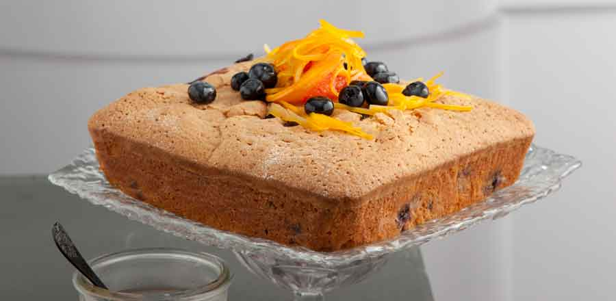 Blueberry And Olive Oil Pot Cake With Citrus Syrup Supervalu