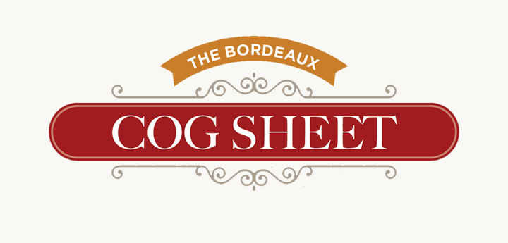 The Bordeaux Cog Sheet