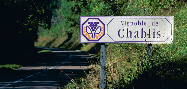 Signpost to Chablis, where the Chardonnay gives wines of steel and savour.