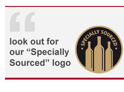 Look out for our Specially Sourced logo