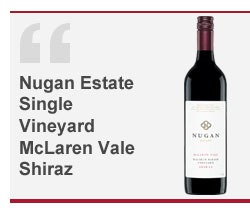 Nugan Estate Single Vineyard McLaren Vale Shiraz