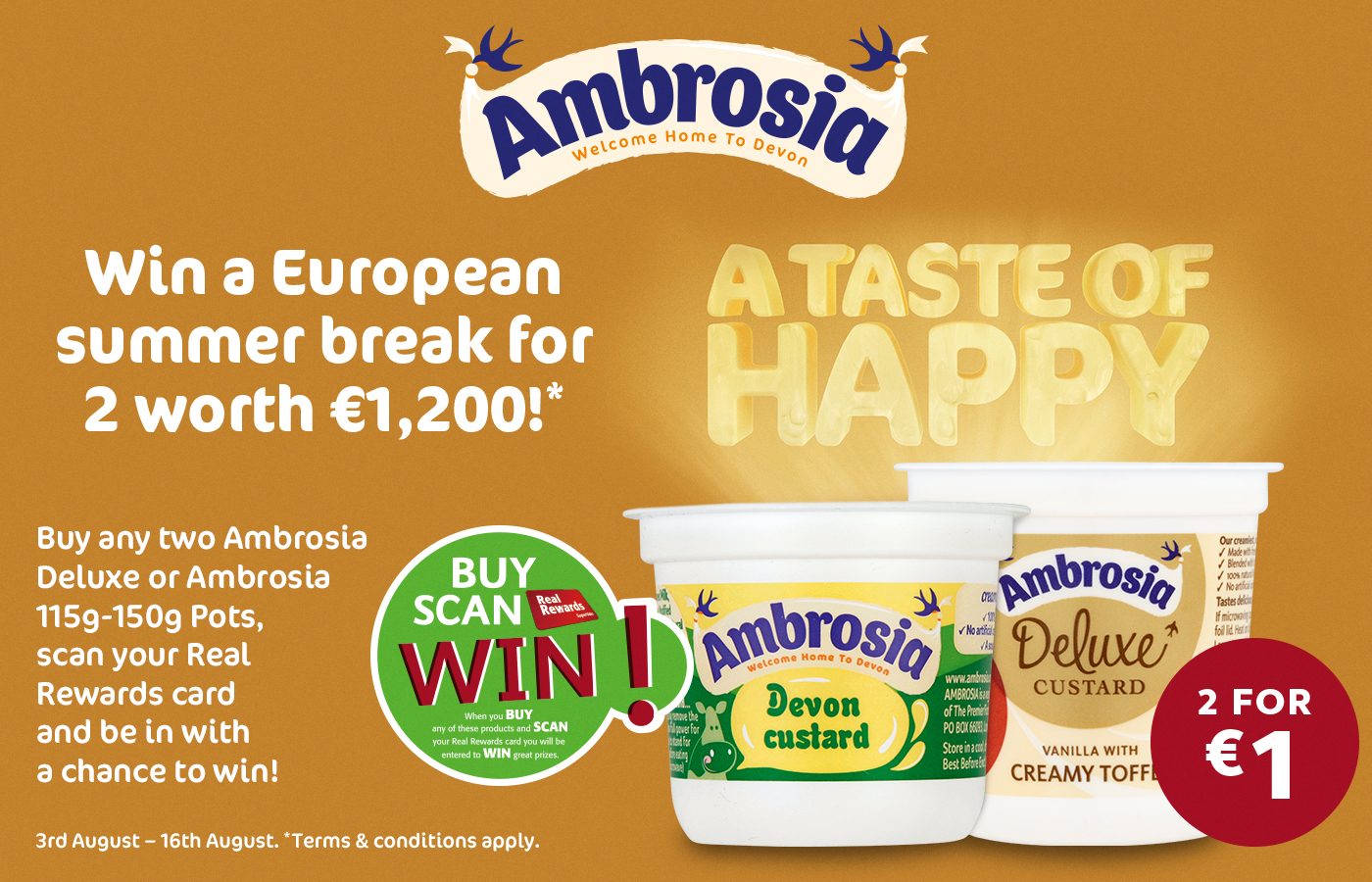 Win with Ambrosia