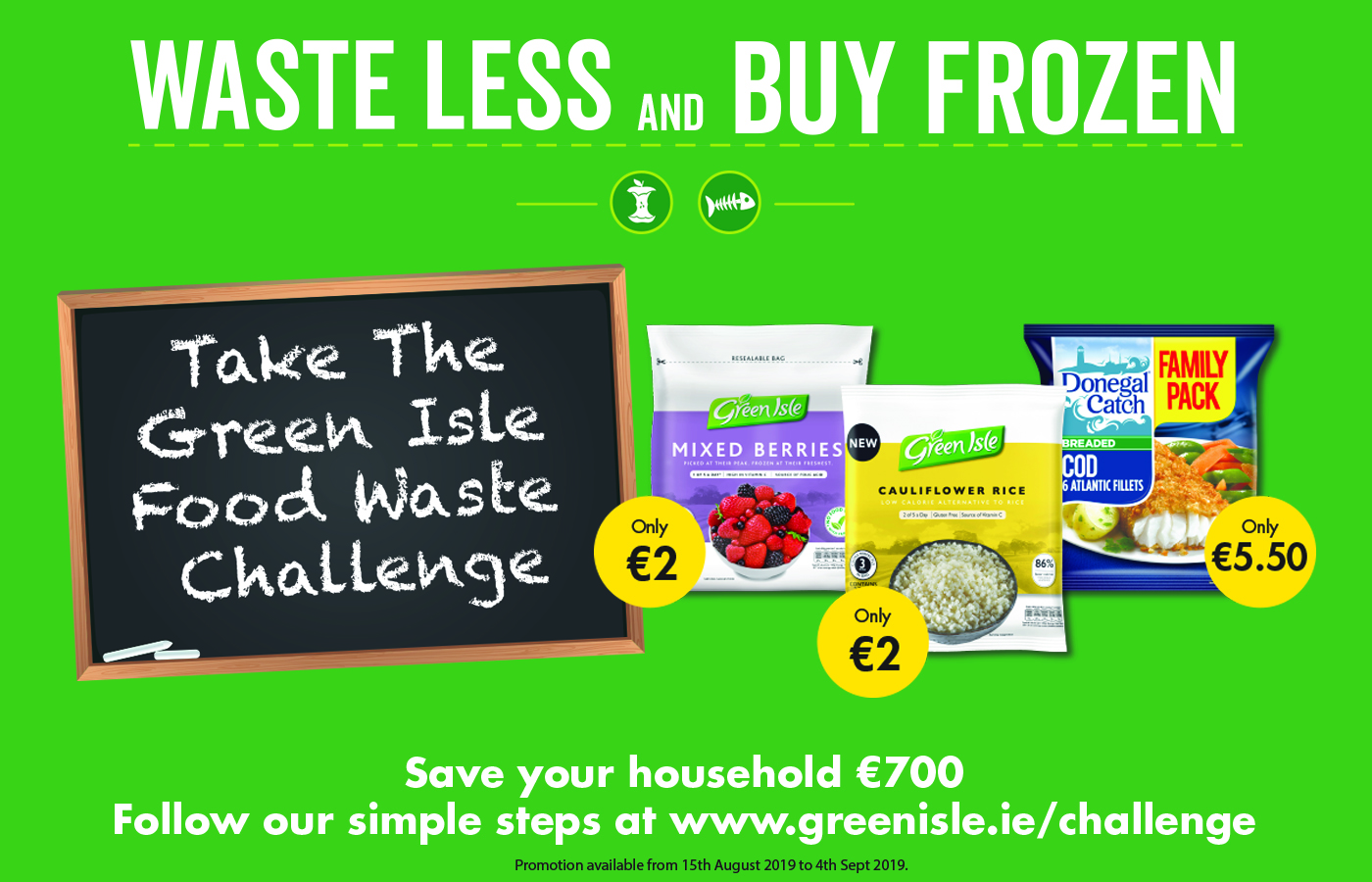 Take the Green Isle Food Waste Challenge