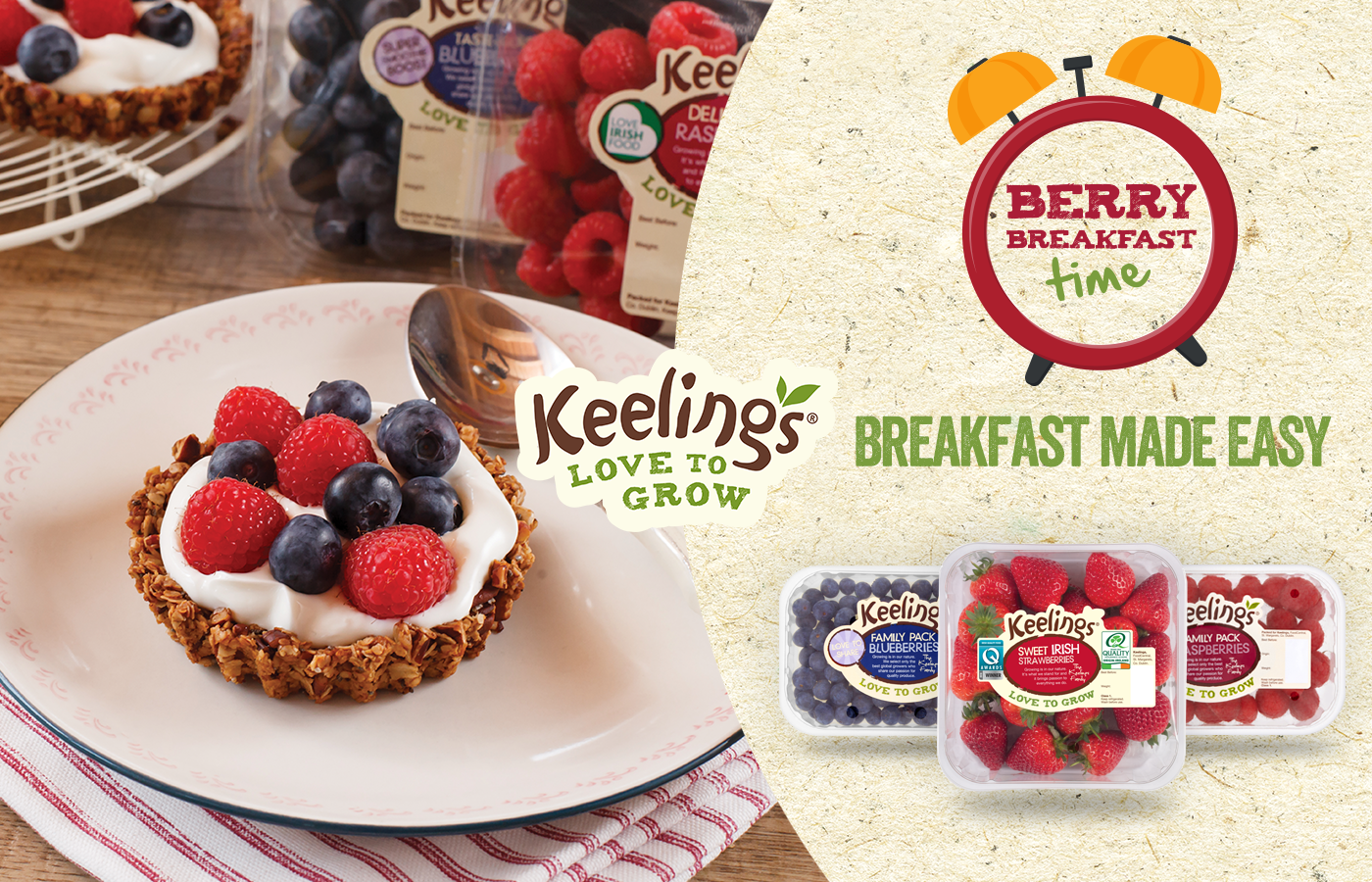 Berry Breakfast Time - Breakfast Made Easy with Keelings