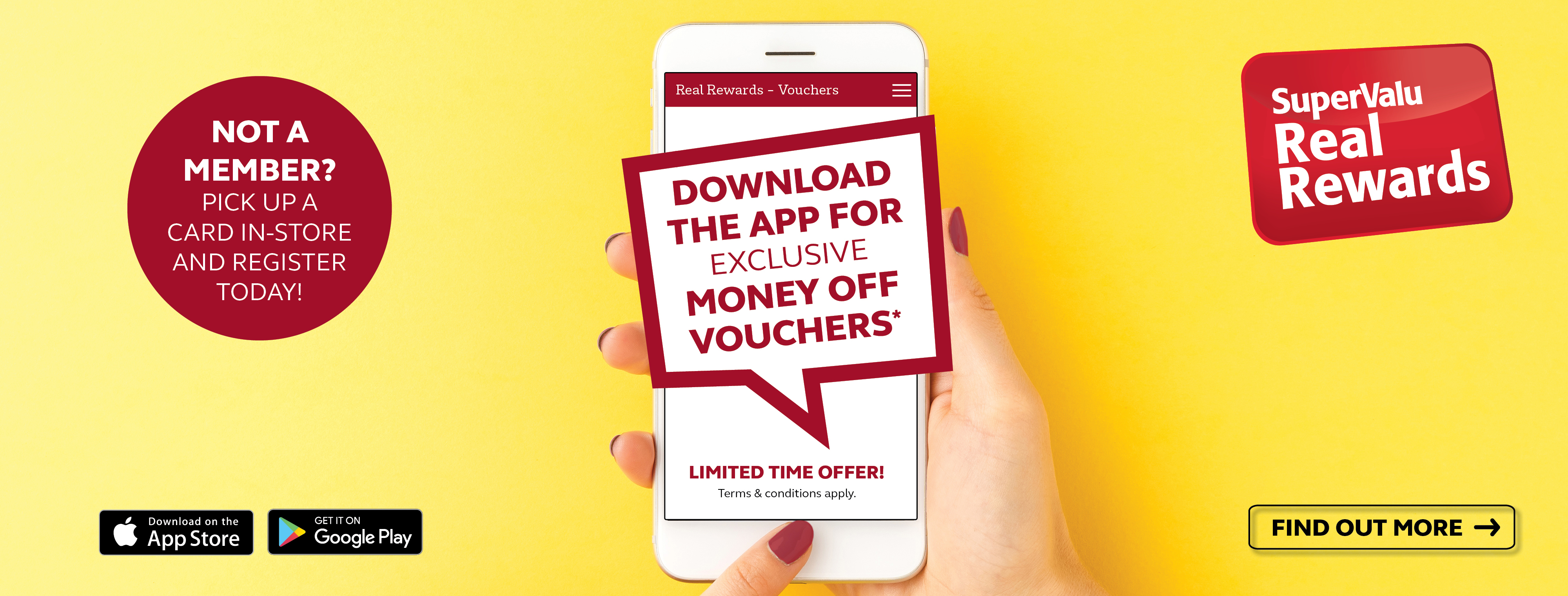 App Exclusive Vouchers - Limited Time Only