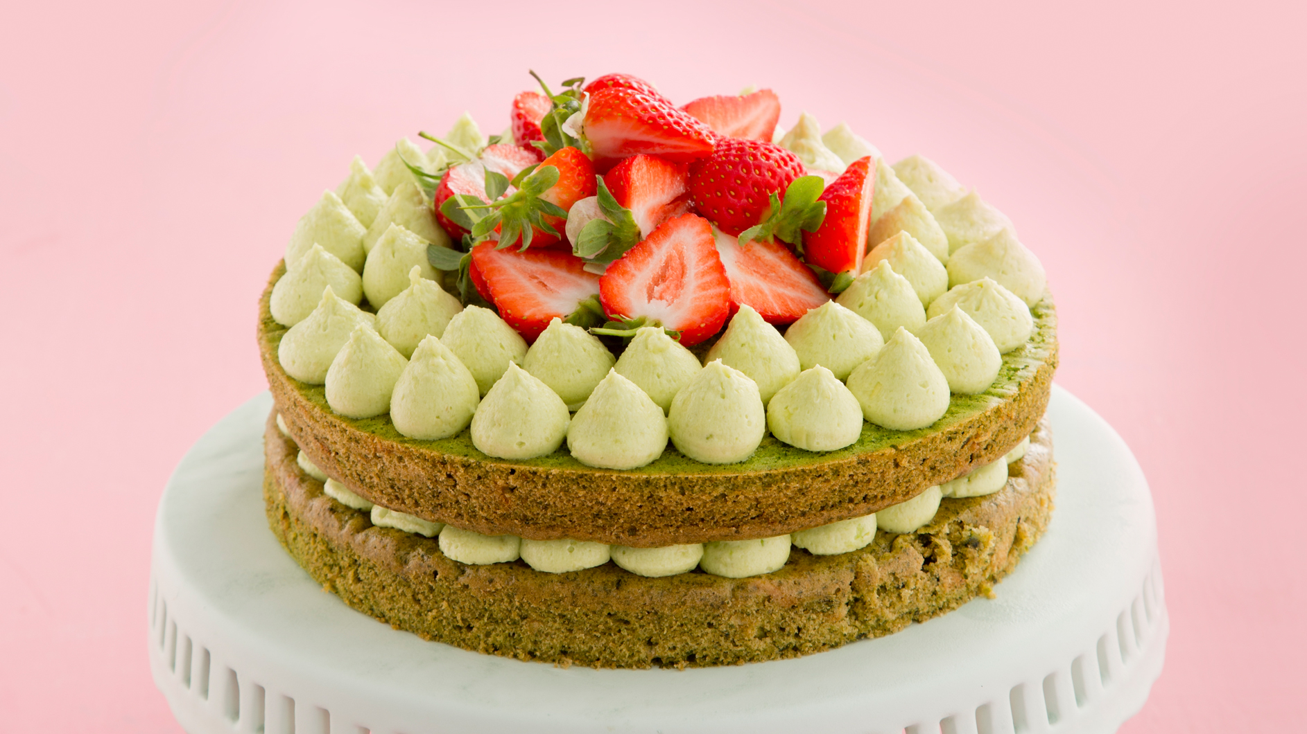 Phenomenal Spinach And Courgette Cake With Avocado Cream Frosting And Funny Birthday Cards Online Hendilapandamsfinfo