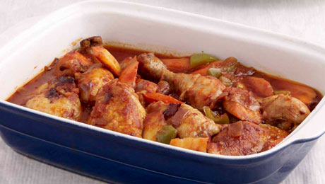 Braised chicken legs with chunky vegetables and tomato sauce supervalu braised chicken legs with chunky vegetables and tomato sauce forumfinder Image collections