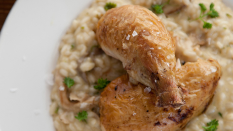 Chicken and wild mushroom risotto supervalu for How do i make chicken risotto