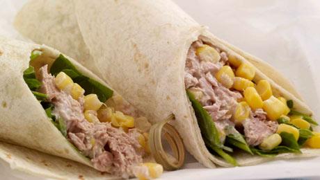 Tuna and Sweet Corn Tortilla Wrap - SuperValu