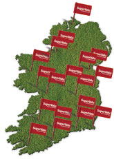 Supervalu delivery areas