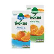Tropicana Smooth/Original Orange Juice 1.4ltr