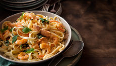 Mixed seafood pasta recipe