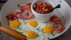 Bacon egg salsa recipe