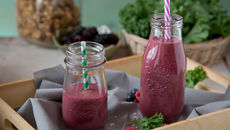 Beetroot berry smoothie recipe