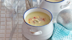 Celeriac apple sage soup recipe