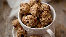Chocolate cranberry energy bites recipe