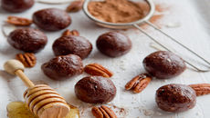 Chocolate pecan balls recipe