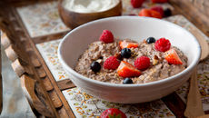 Flaxseed porridge cacao nibs recipe