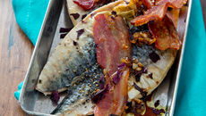 Grilled mackerel tosted irish seaweed 2 recipe