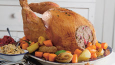 Kevin s christmas turkey two stuffings recipe