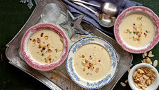 Parsnip almond soup recipe