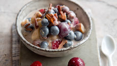 Protein packed yogurt berries recipe
