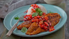 Thai spiced whiting tomato sauce recipe