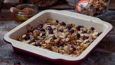Banana oat bake recipe