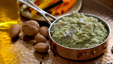 Broccoli almond gorgonzola dip recipe