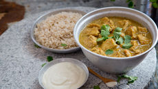 Chicken korma coconut cream recipe