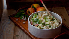 Creamy cauliflower salad recipe